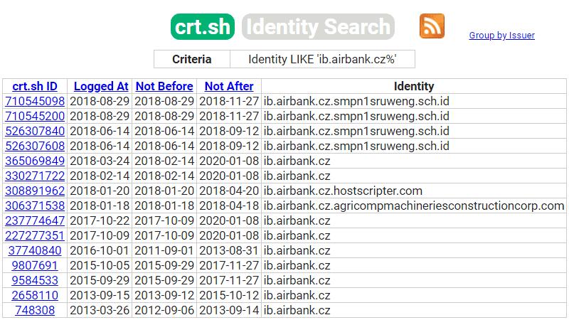 Identity LIKE 'ib.airbank.cz%'