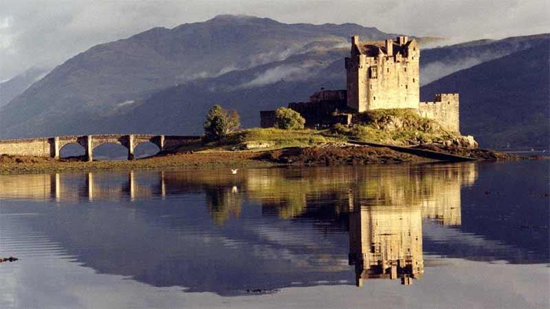 Hrad Eilean Donan ve Skotsku