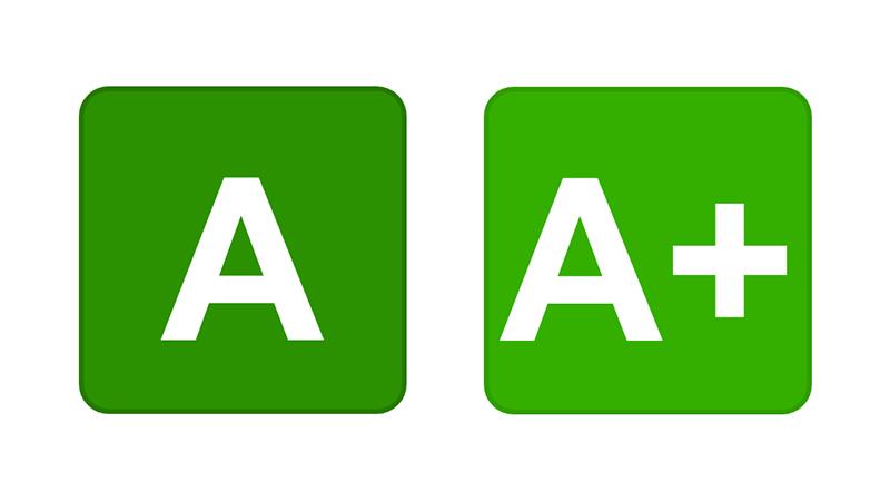 A a A+