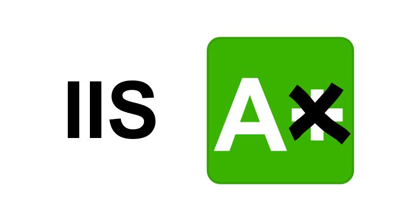A+ na IIS