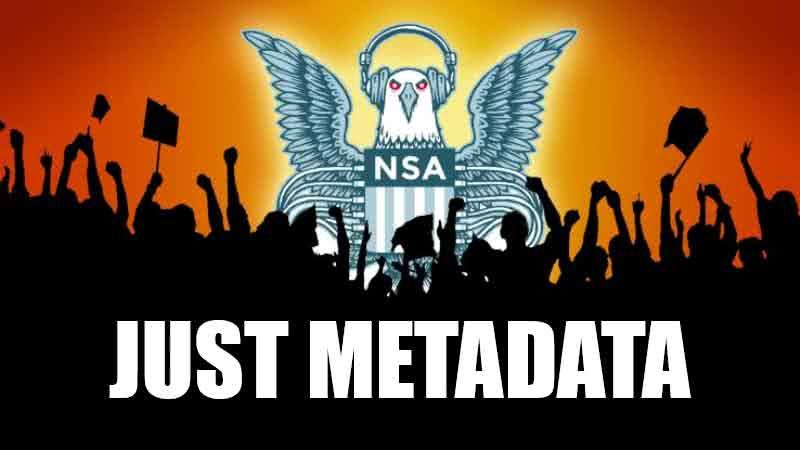 Just metadata