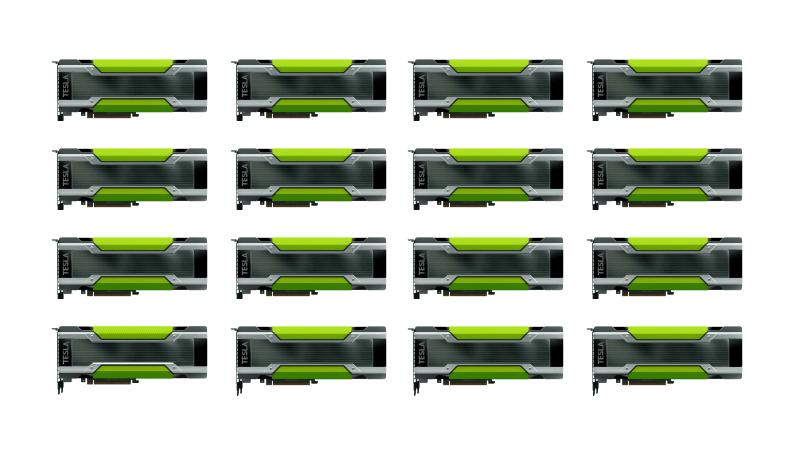 16× NVIDIA Tesla K80 GPU