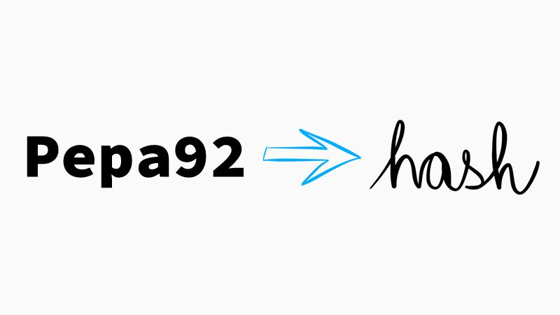 Pepa92 → hash